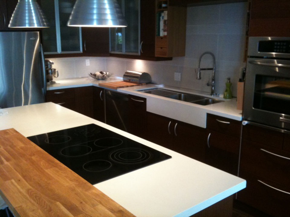 Mag's Concrete Works, concrete kitchen countertop sink
