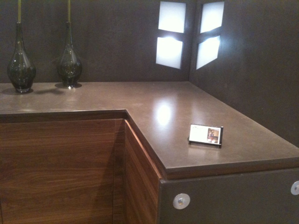 Mag's Concrete Works, concrete countertop