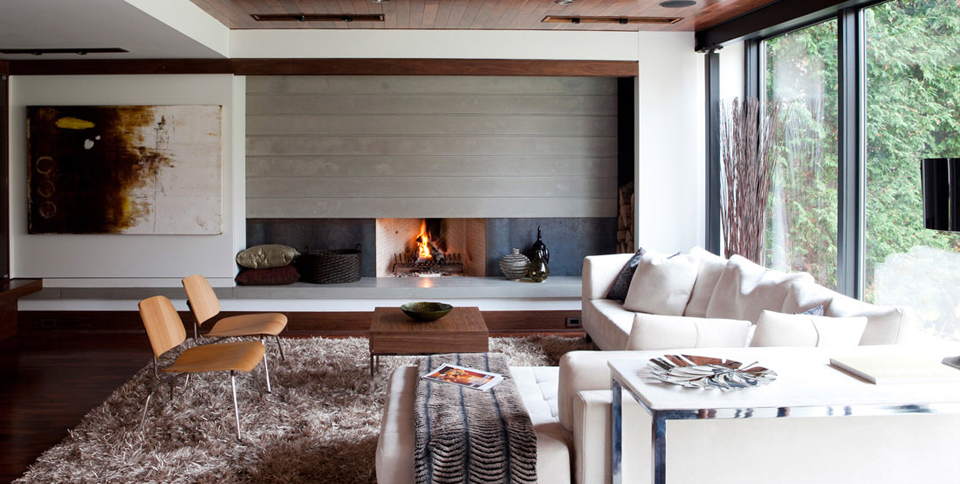Mag's Concerete Works, Building Dreams Fireplace