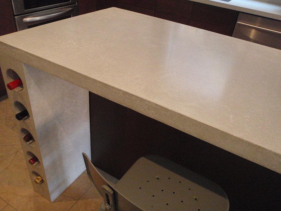 Mag's Concrete Works, concrete countertop table