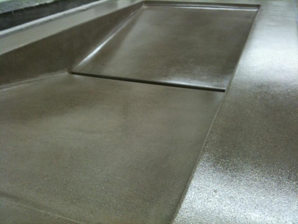 Mag's Concrete Works, concrete countertop sink